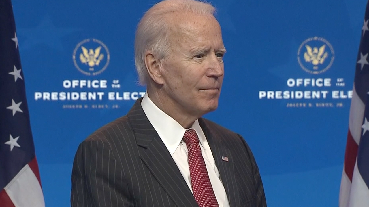 Biden: Trump campaign 'totally irresponsible' by questioning vote