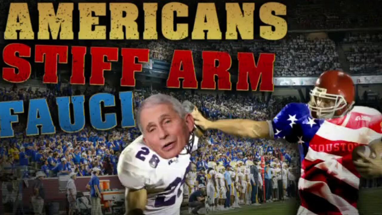 Angle: Americans stiff arm Fauci