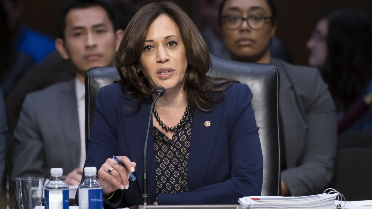 Biden selects Kamala Harris as running mate