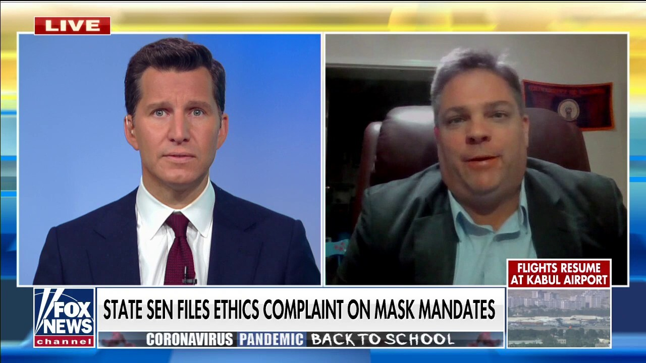 Illinois state senator files ethics complaint over mask mandate