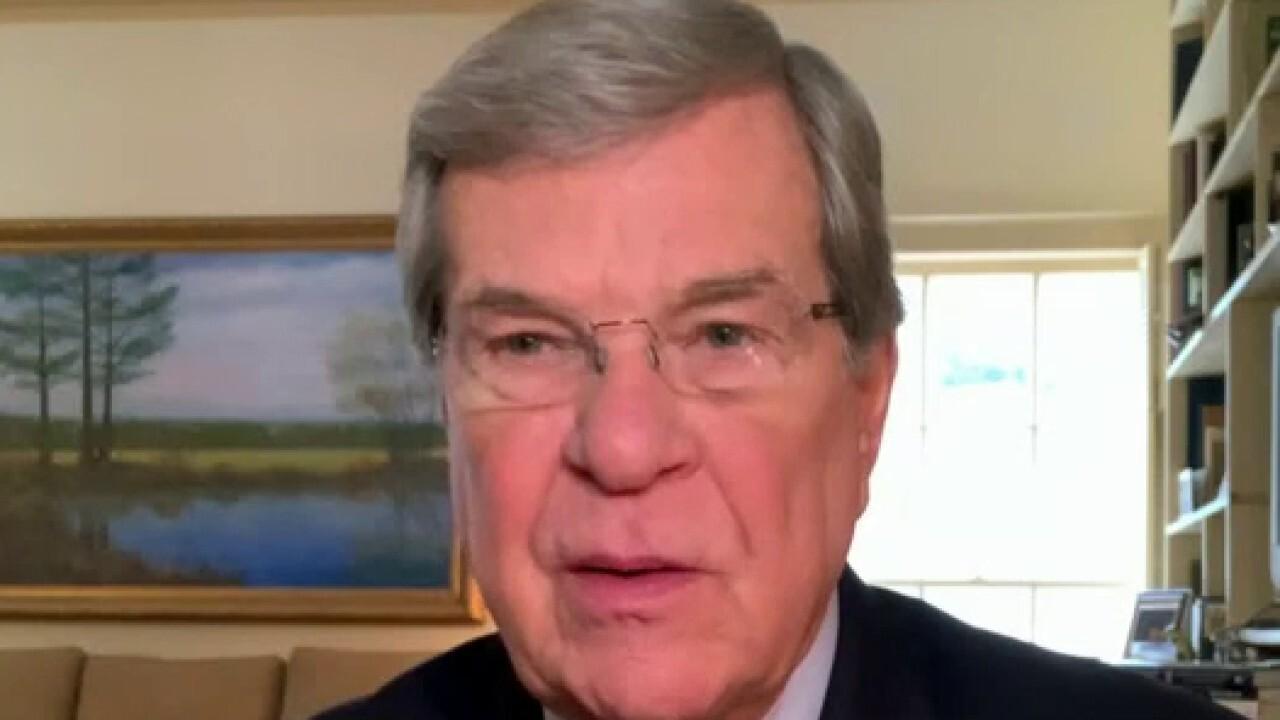 Former Senate Majority Leader Lott: It's a challenge to run the Senate when it's 50-50