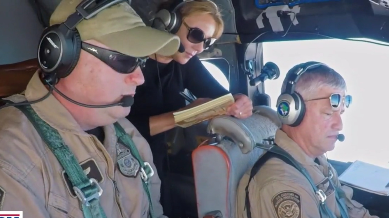 Lara Logan takes a ride with members of CBP's Air and Marine Operations on 'Lara Logan Has No Agenda: Return to the Border'