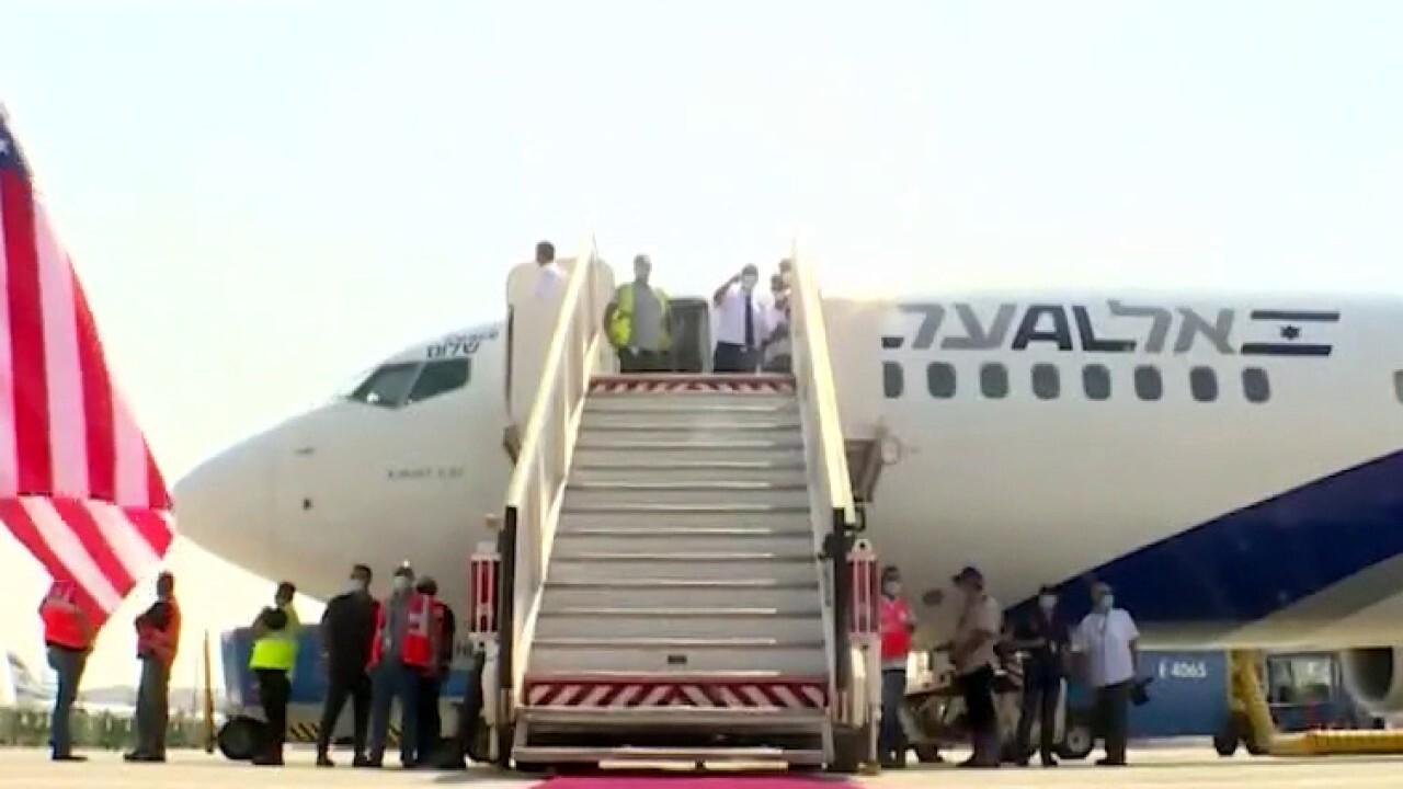 Historic flight from Israel to United Arab Emirates