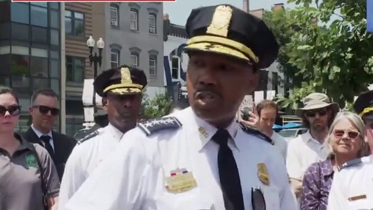 DC police chief 'mad as hell' after wave of shootings in Washington