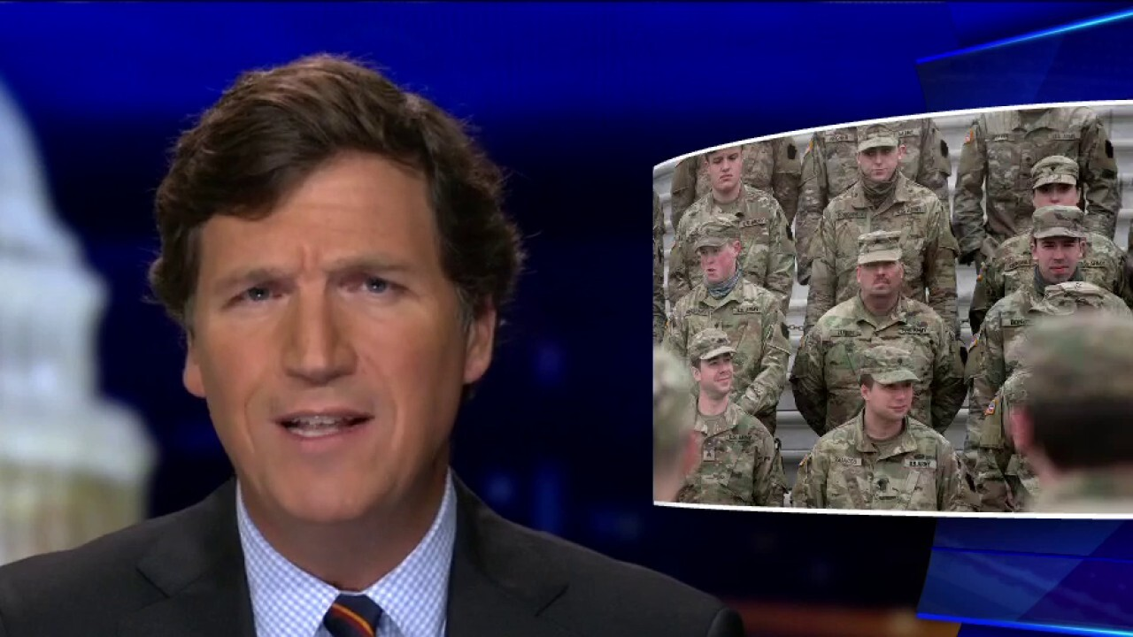 Tucker: Why is National Guard still in Washington after inauguration?