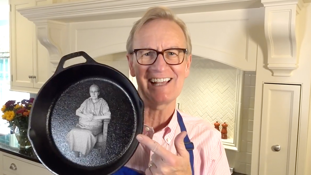 Steve Doocy makes his Grandma Berndt's Hash Brown-Crust Quiche