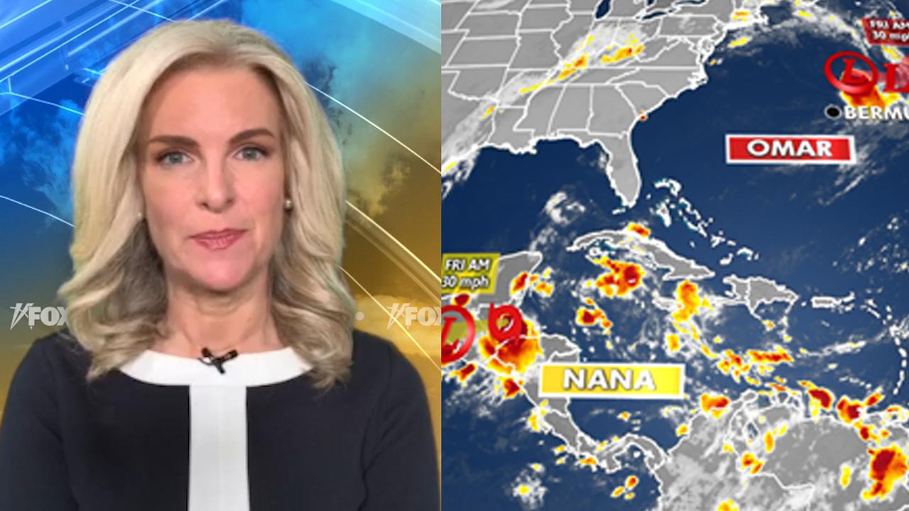 National forecast for Thursday, September 3