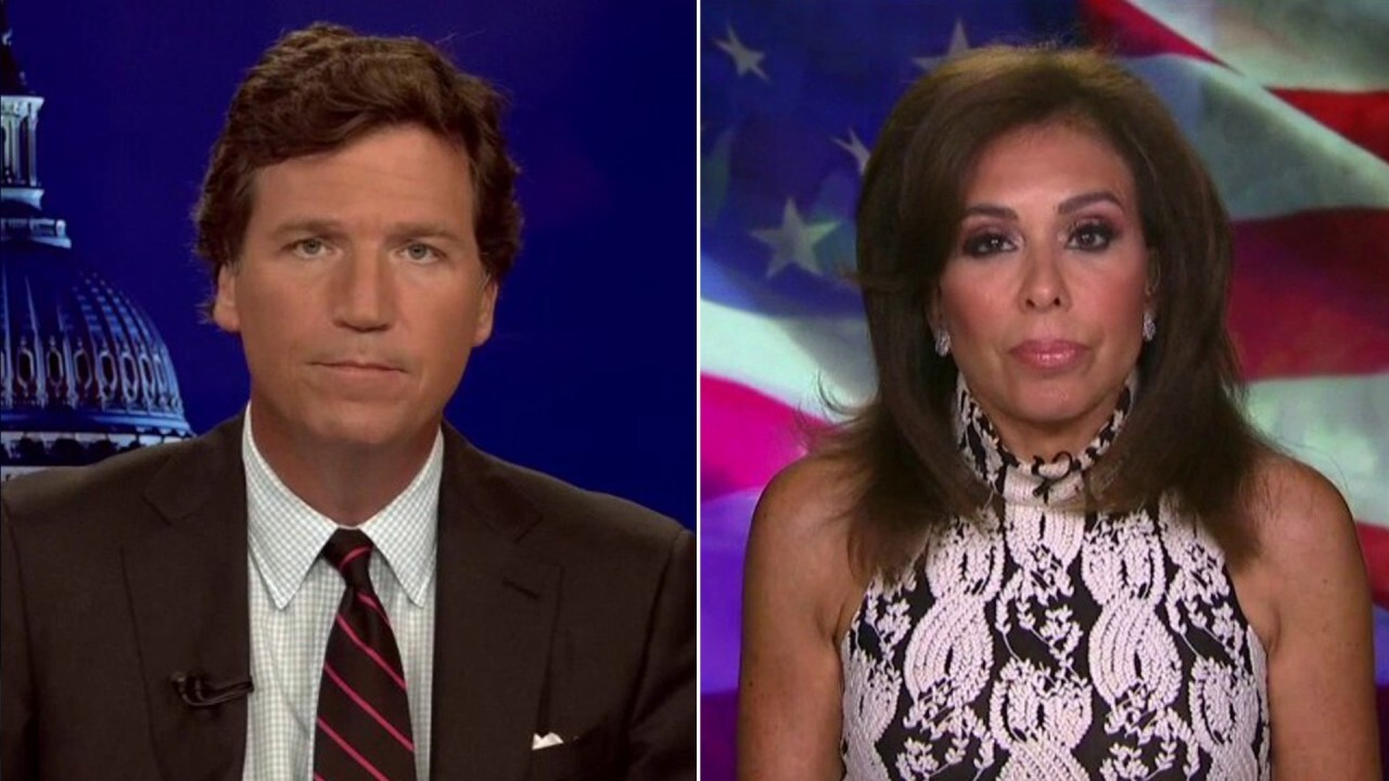 Tucker, Judge Jeanine slam Democrat 'lunacy' over plan to pack Supreme Court
