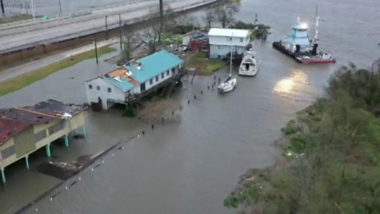 United Cajun Navy responds to victims of Hurricane Laura