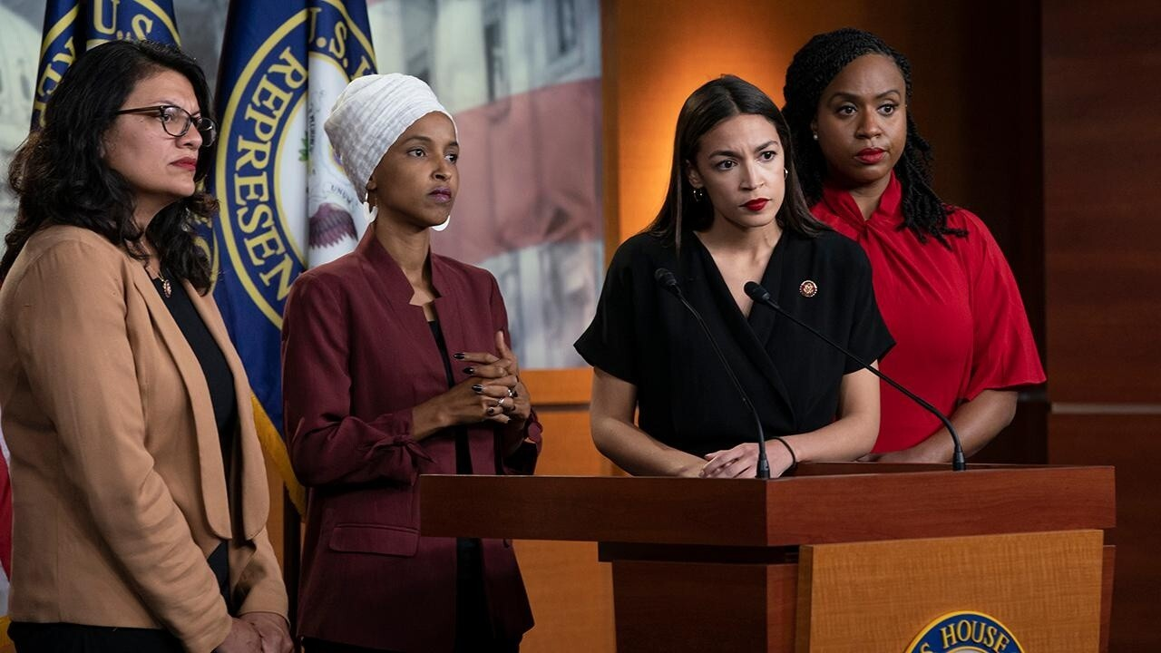 Squad members leap to Ilhan Omar's defense amid infighting over tweet