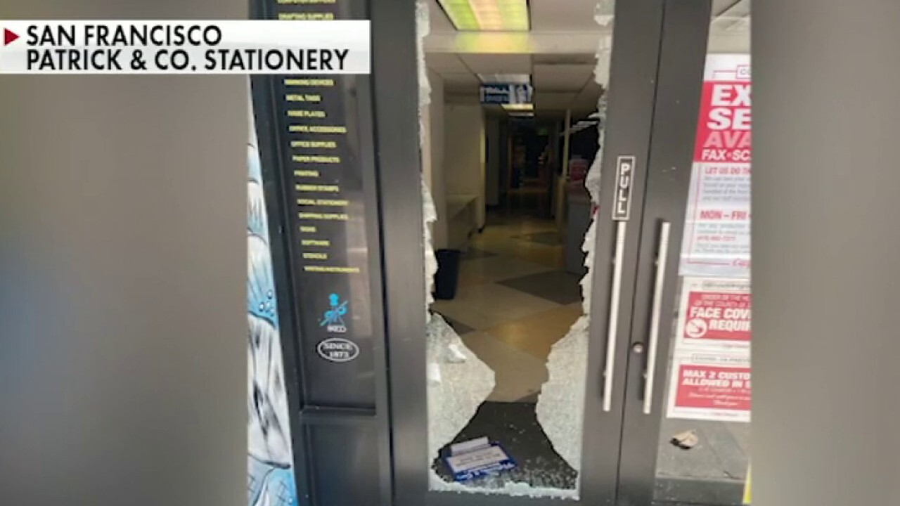 San Francisco stationery store destroyed by riots, employee held at knifepoint