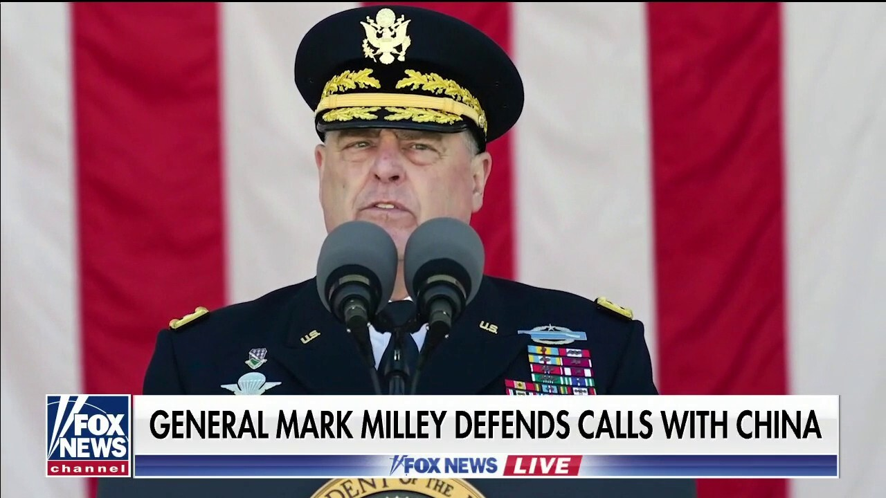 General Mark Milley defends calls with China