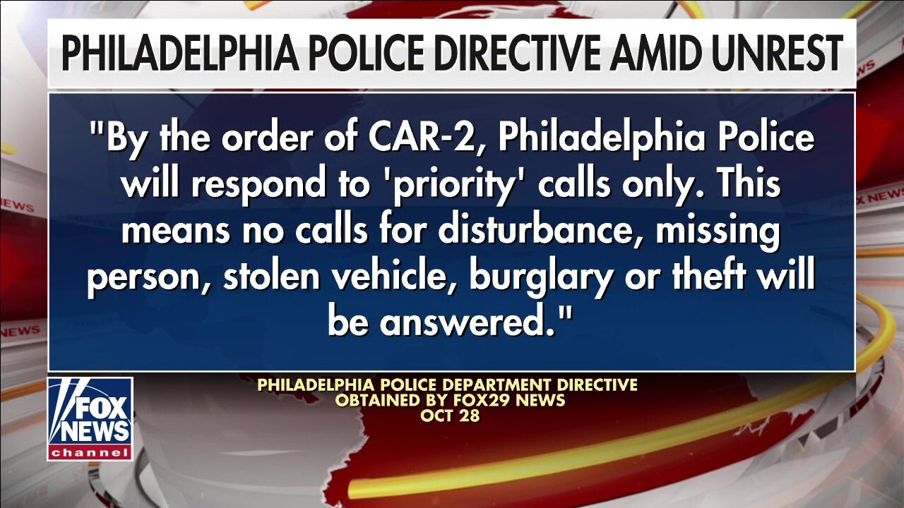 Philadelphia police reportedly being told not to arrest looters