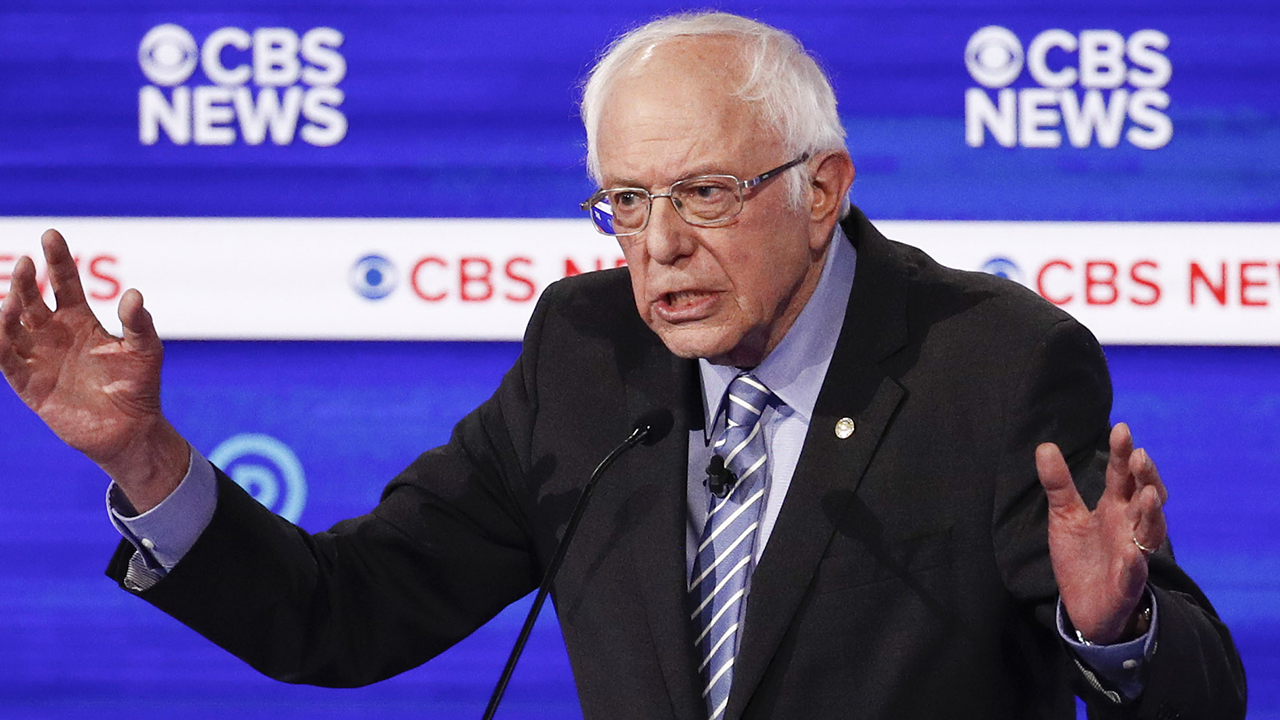 Sanders attacked over the cost of his policies
