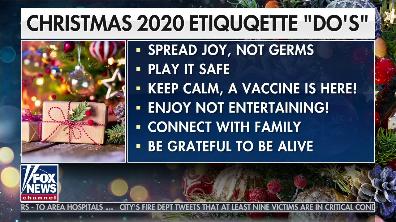 2020 Christmas etiquette do's and don'ts