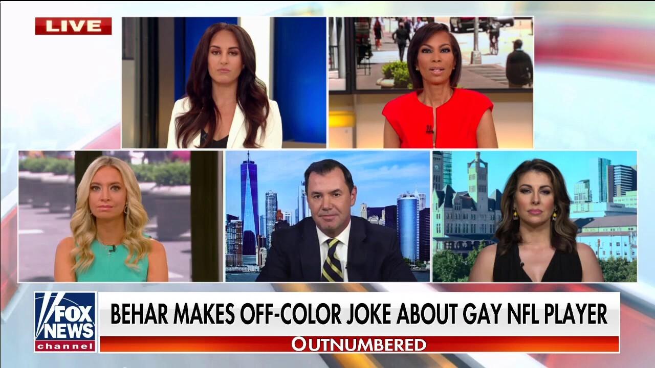 Joy Behar tries to walk back joke about gay NFL player
