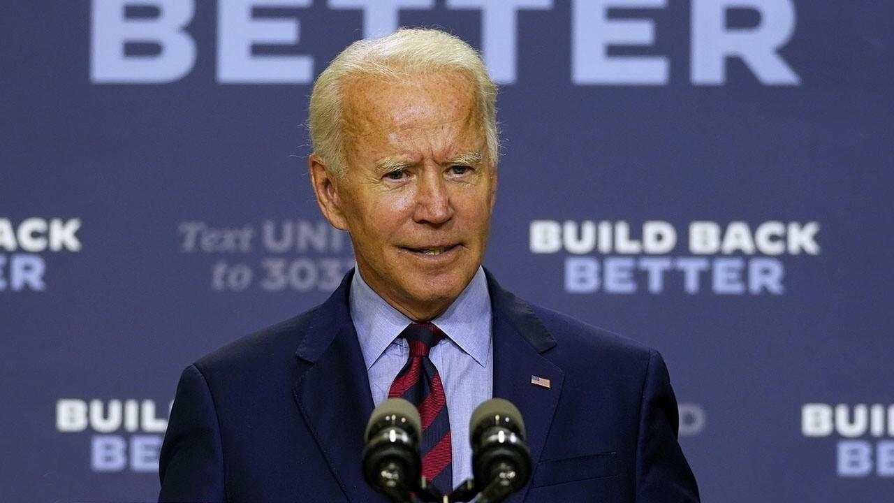 Joe Biden downplays August jobs numbers