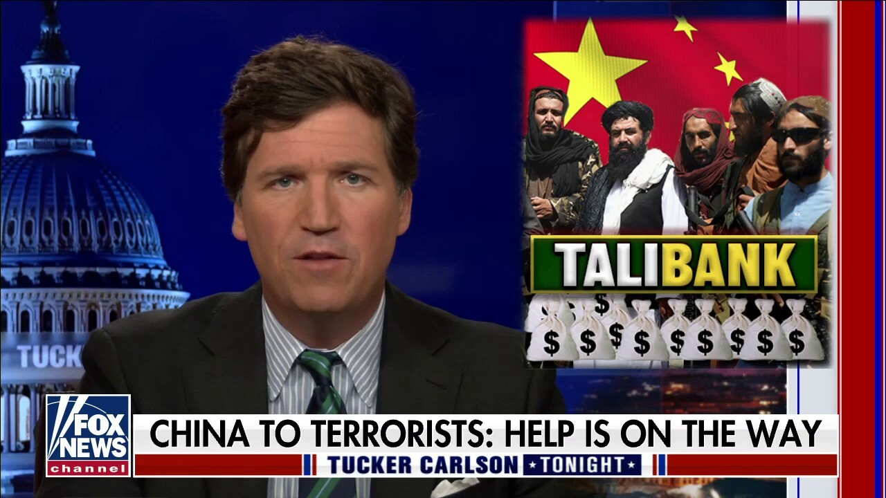 Chinese government suggests it will financially aid the Taliban