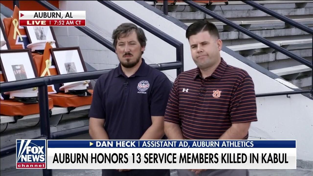 Auburn opens football season with tribute to fallen US service members in Afghanistan