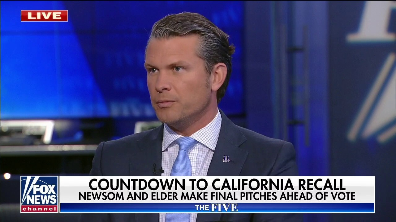 What's happening in California is how the modern Democrat Party wants to win elections: Hegseth