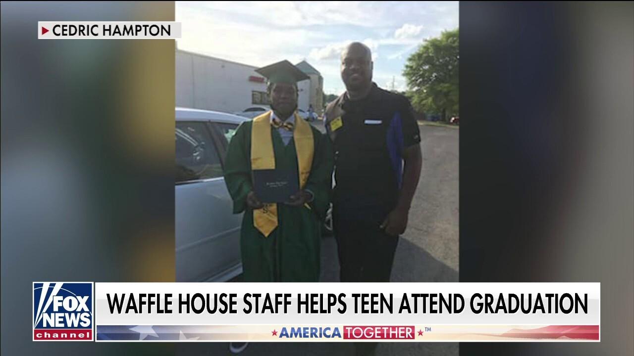 Waffle House staff helps teen attend graduation