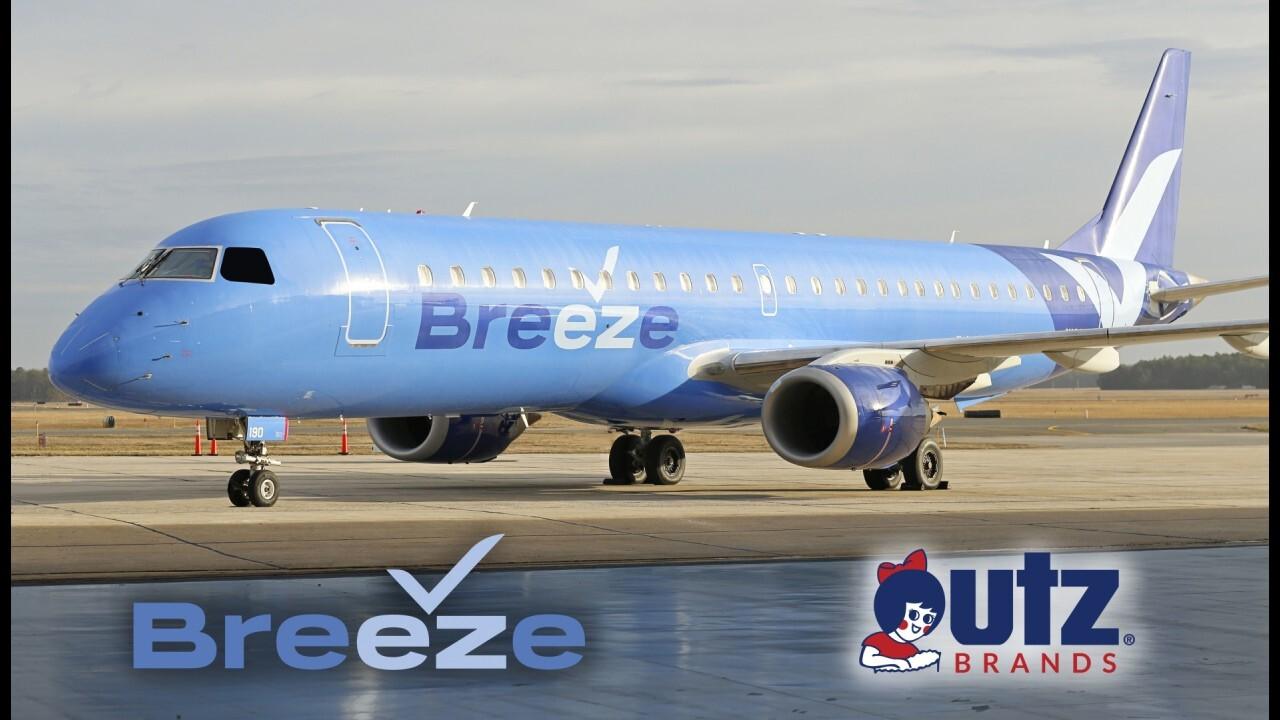 Breeze Airways takes flight ahead of Memorial Day