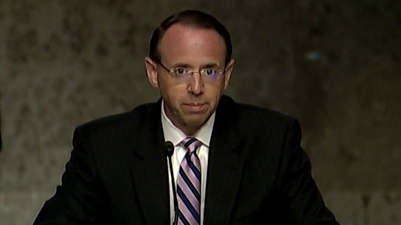 Rod Rosenstein brings FBI management over FISA process into question