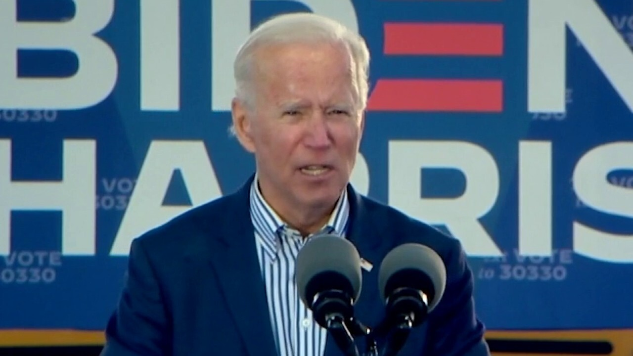 Biden tells town hall not all minorities 'know how to get online'
