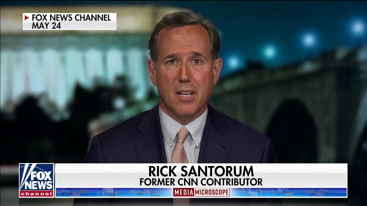 Santorum hits CNN over firing