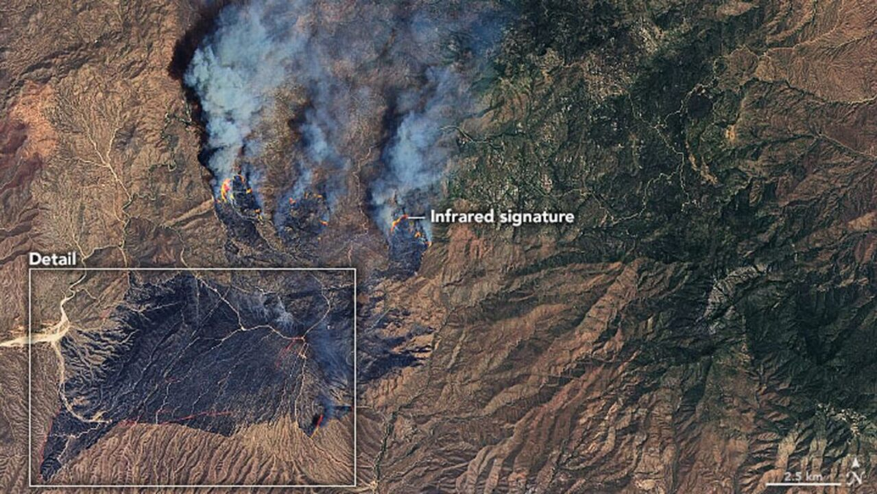 Arizona wildfire now the largest in the US after doubling in size