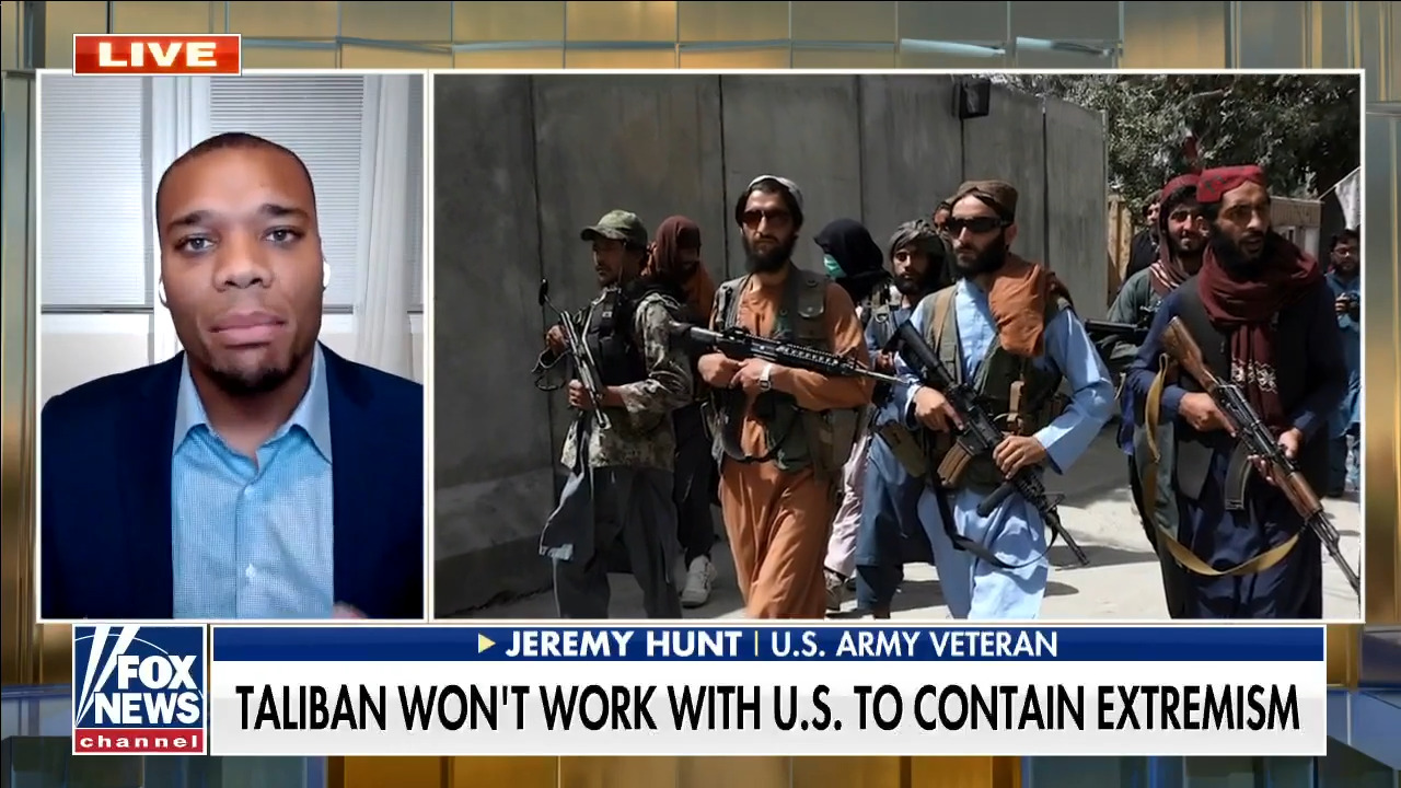 West Point grad urges Biden admin to 'project strength' against Taliban amid 'embarrassing' repositioning