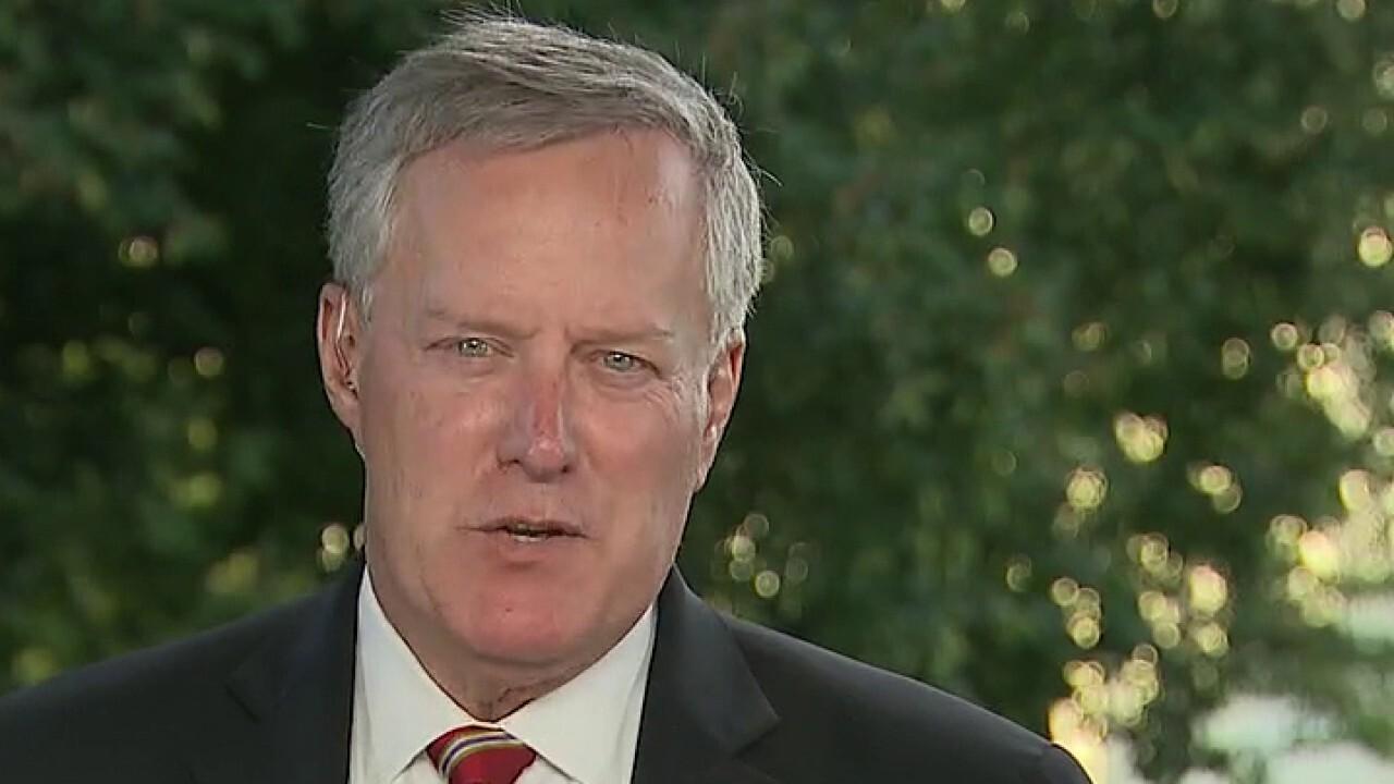 Mark Meadows accuses Biden of wanting to defund police: 'Let's hear him condemn it'