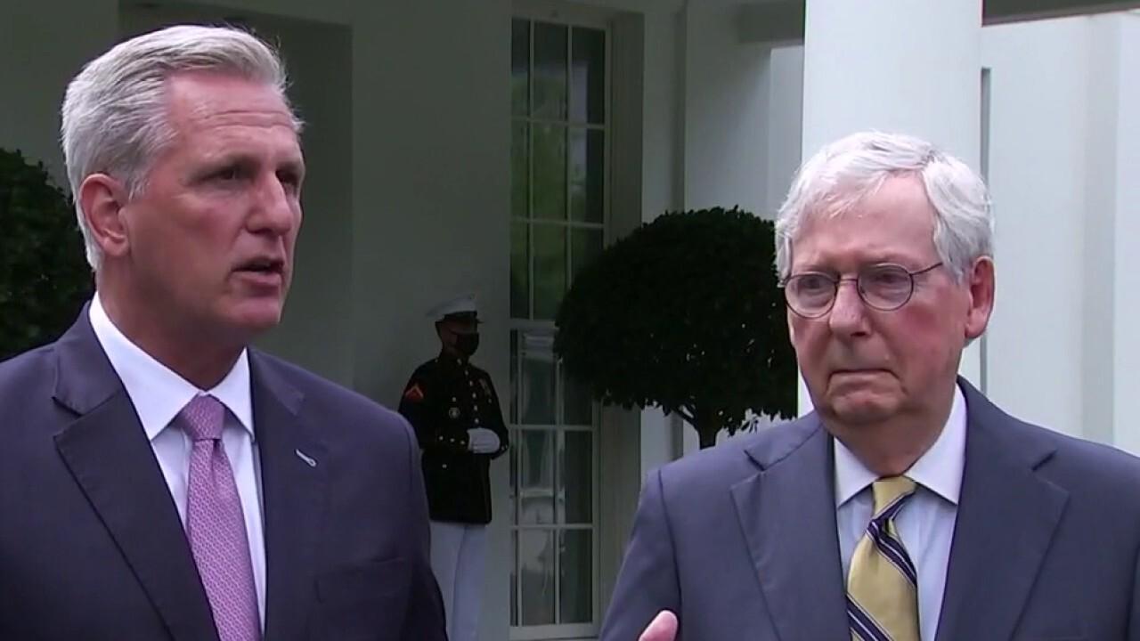Republicans meet with President Biden over running list of concerns
