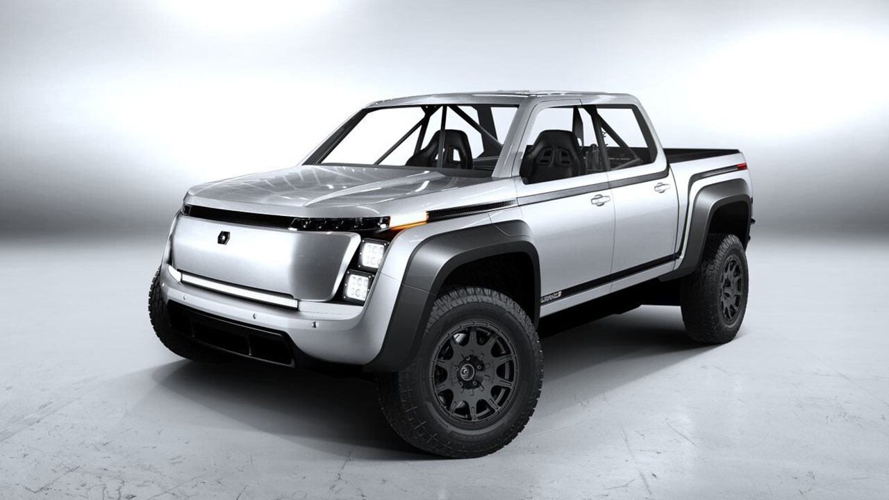 Lordstown Motors CEO Steve Burns talks exclusively to Fox News Autos about the battery-powered truck the company is entering in the San Felipe 250, its first beta build and the future of the all-electric brand.