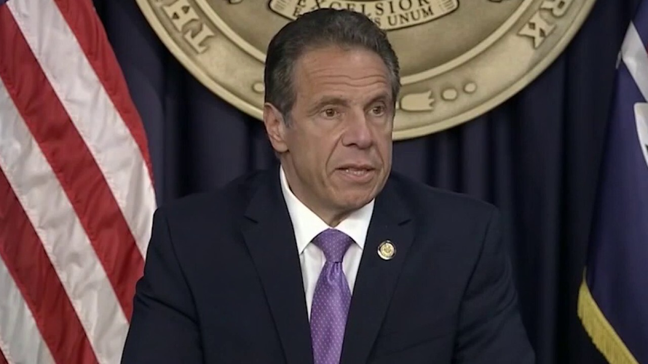 Cuomo claims Republicans are 'playing politics' on nursing home order