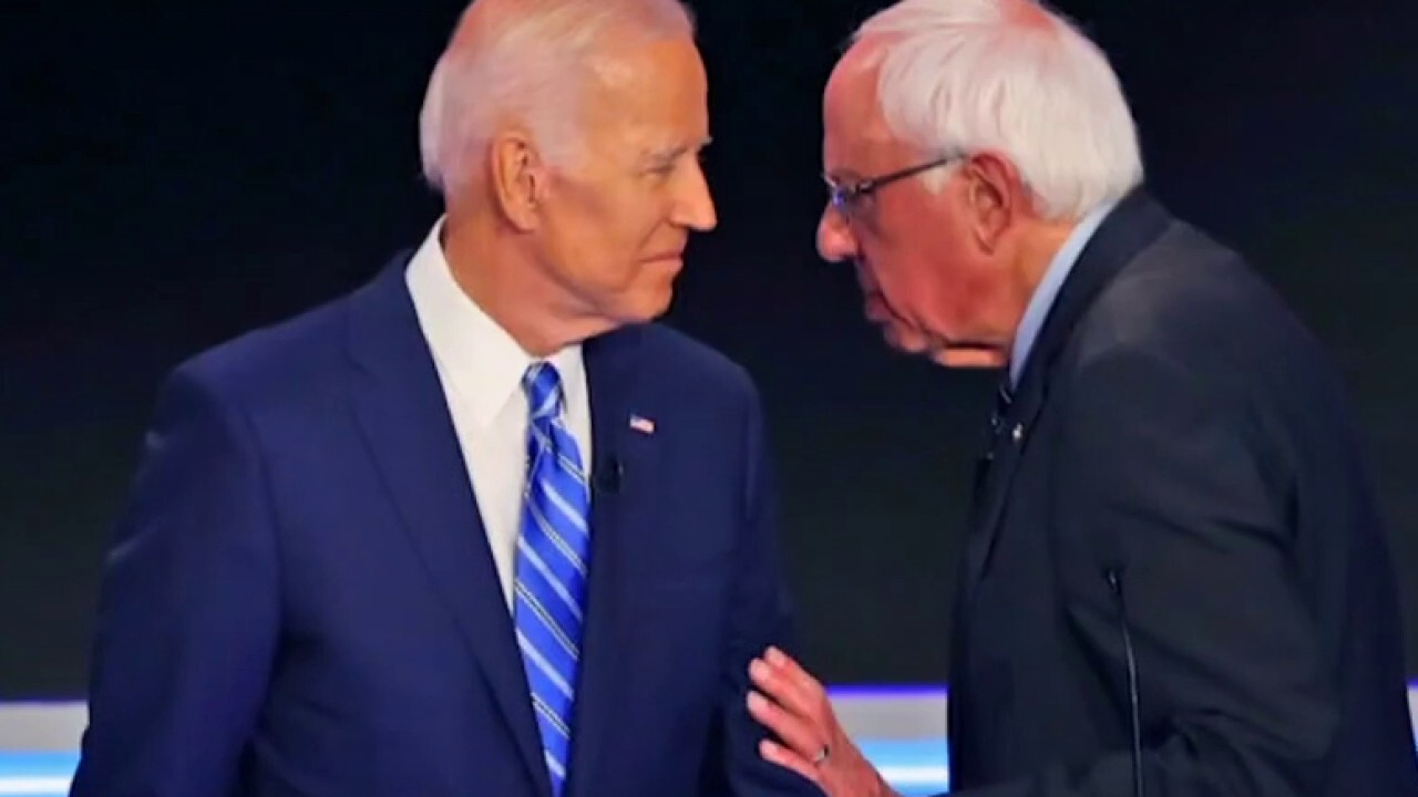 Sanders and 'Squad' push progressive policy on Biden