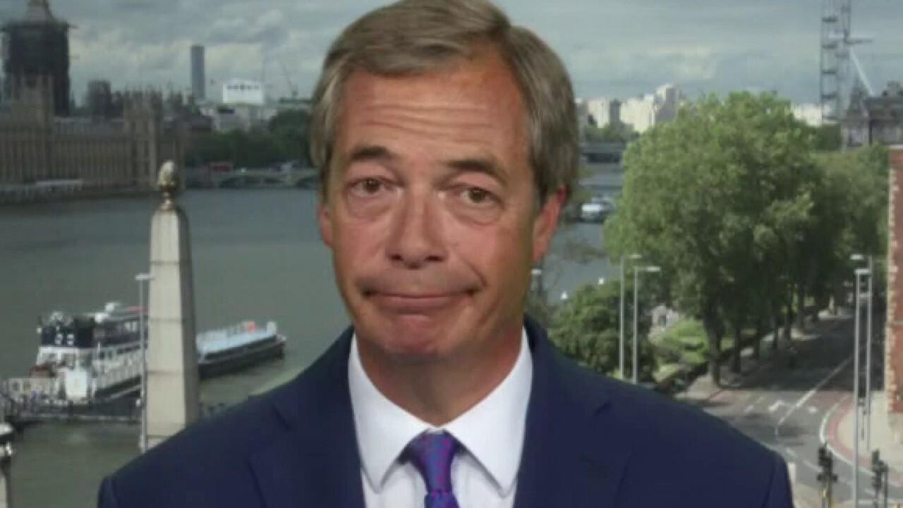 Nigel Farage 'worried' about Biden, Boris Johnson's 'globalist agenda'