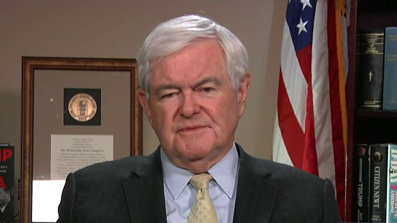 Newt Gingrich on impeachment report: Democrats haven't made their case to the American public