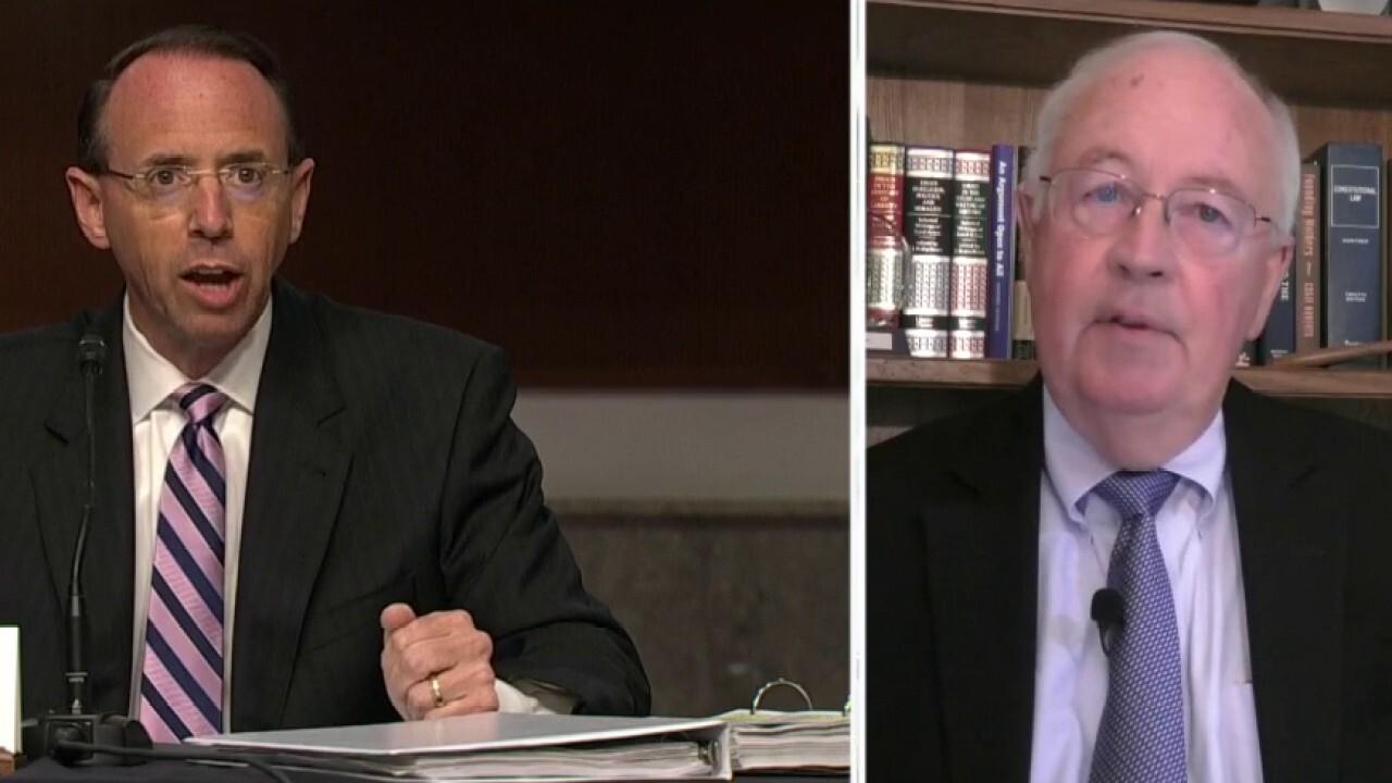 Ken Starr: 'Parade of horribles' unleashed by FBI