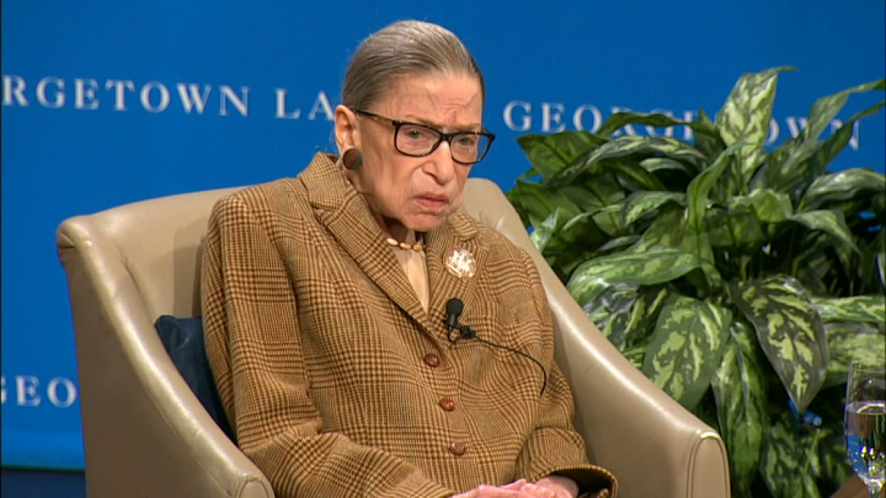 Ruth Bader Ginsburg: The 19th amendment was a miracle