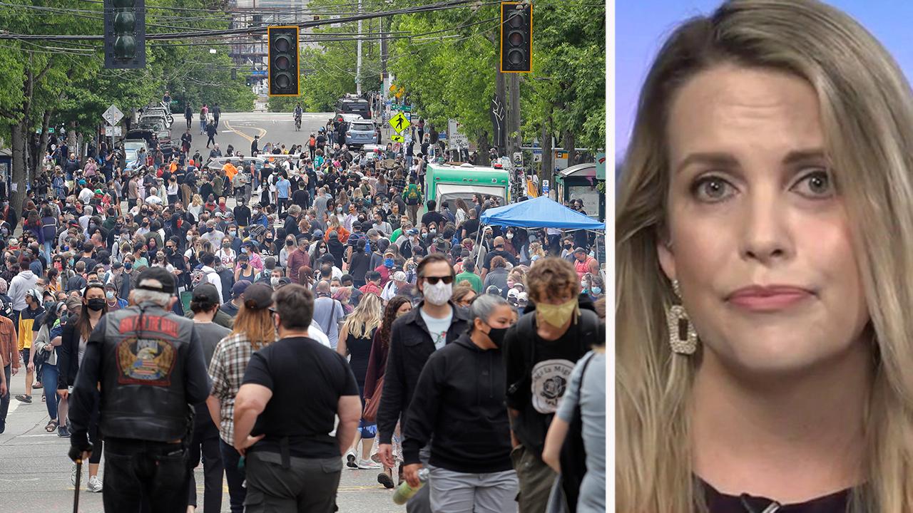 Mainstream media downplay the cop-free 'autonomous zone' in Seattle