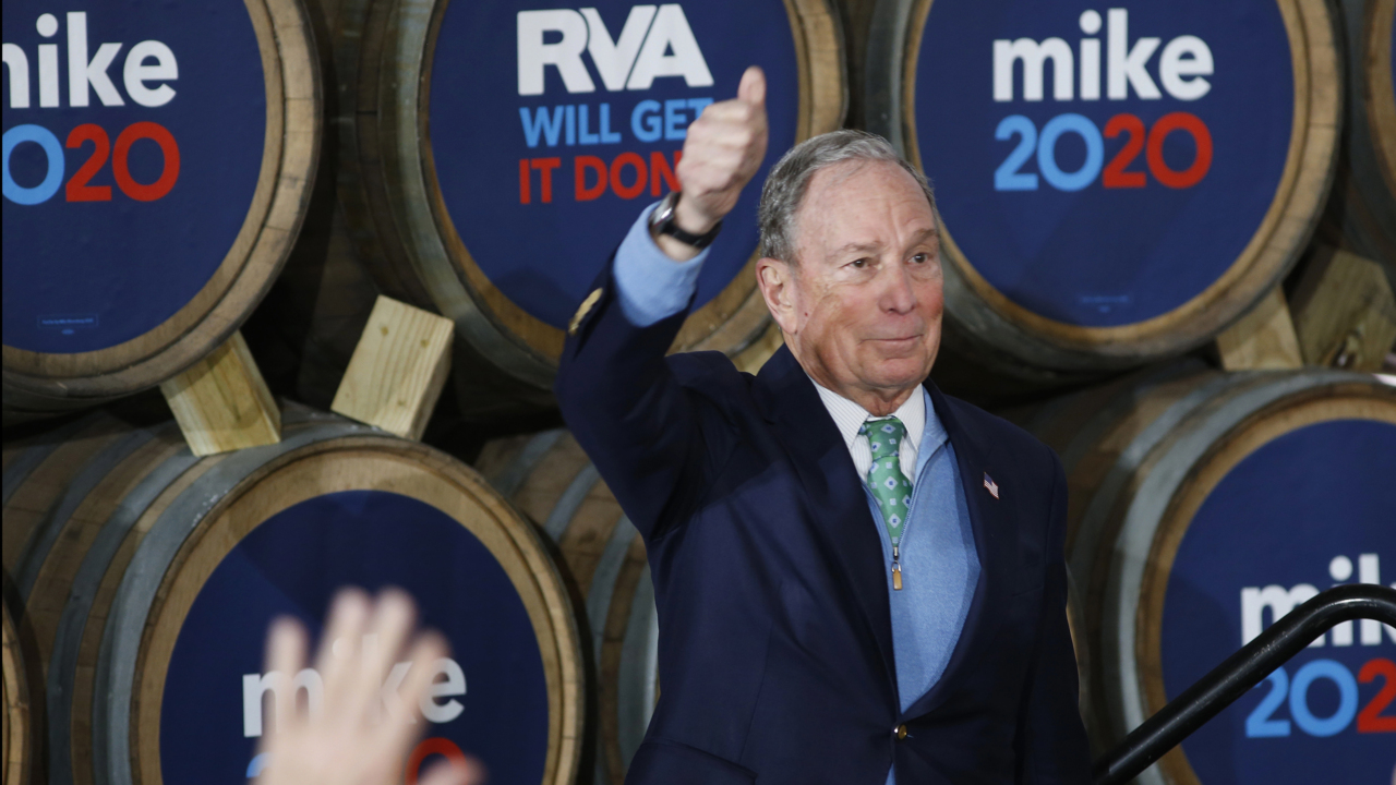 Mike Bloomberg under fire from Trump team, Democratic presidential rivals