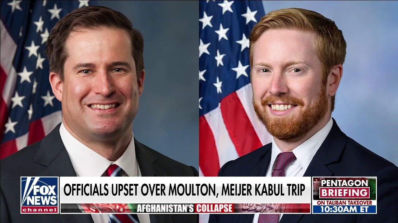 Officials upset over Representatives Moulton, Meijer secret trip to Kabul