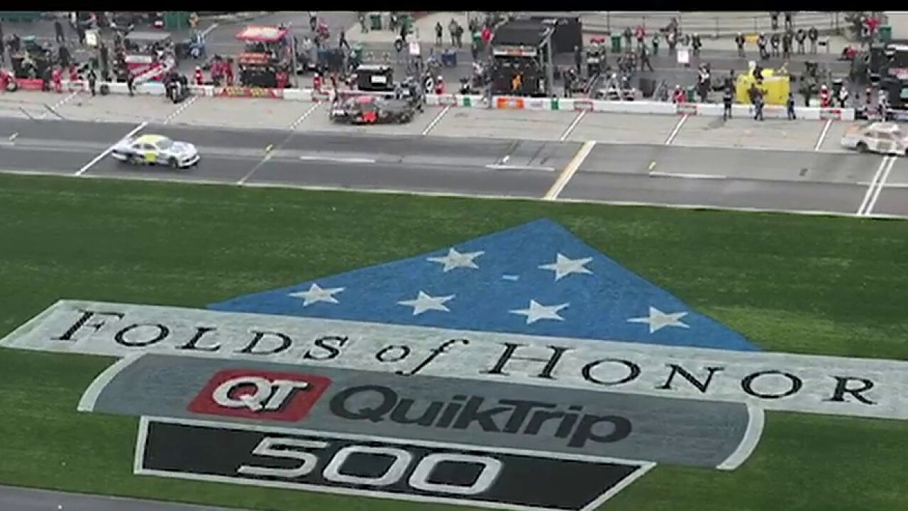 Lt. Col. Dan Rooney on 'Folds of Honor QuikTrip 500' kick off