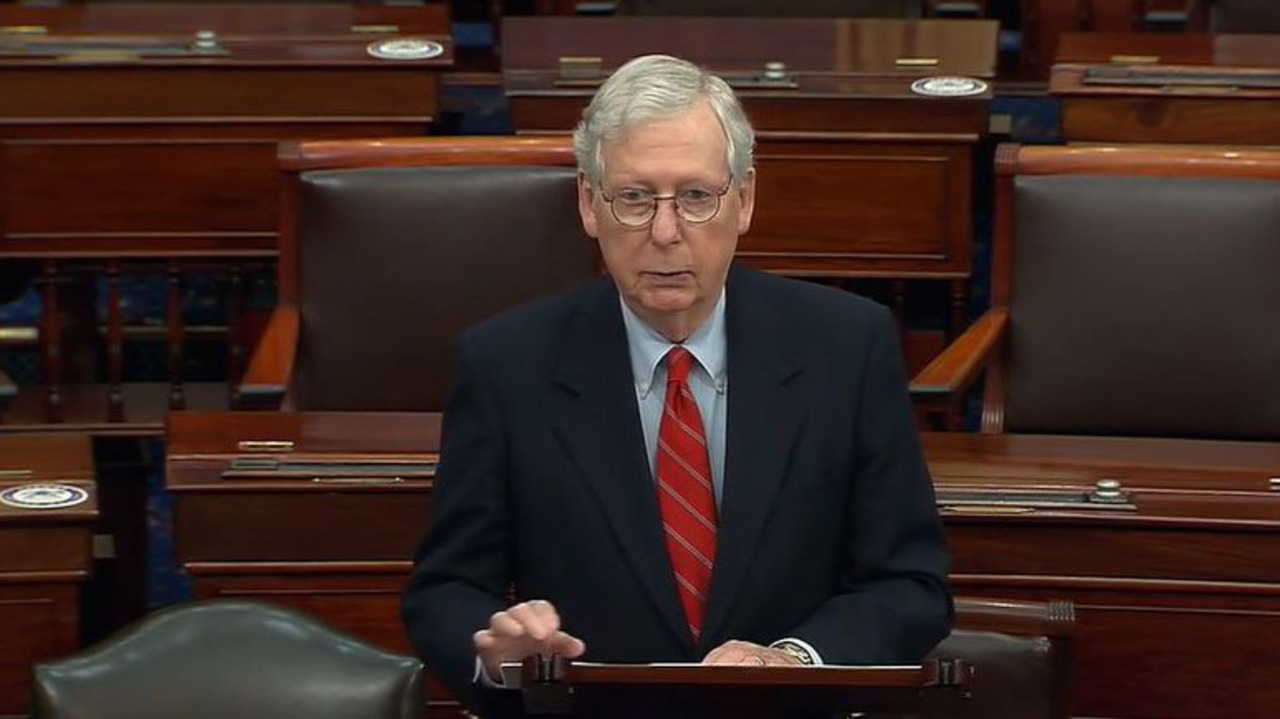 McConnell praises Trump for signing COVID-19, government funding bills thumbnail