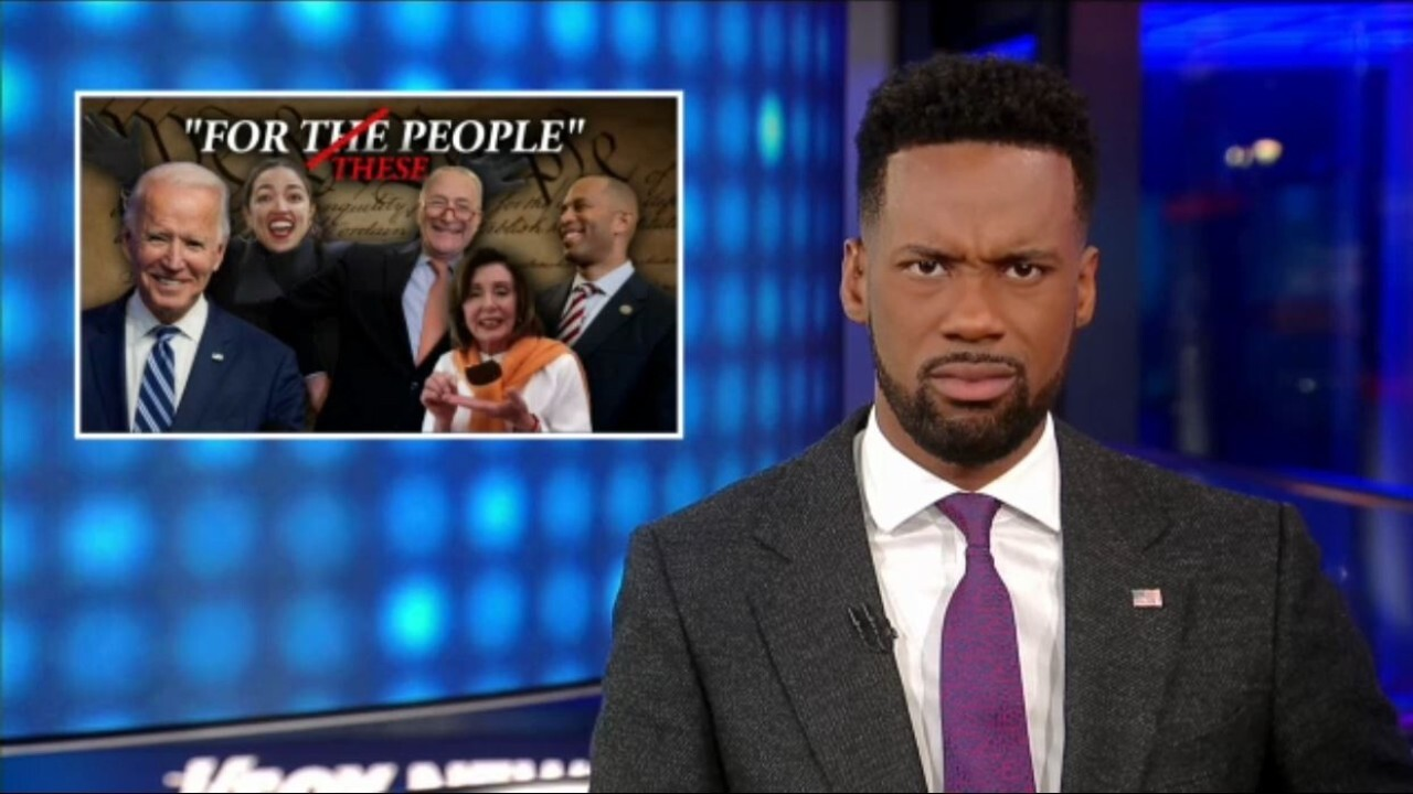 Lawrence Jones: Democrats are about to rob you blind to line their own pockets