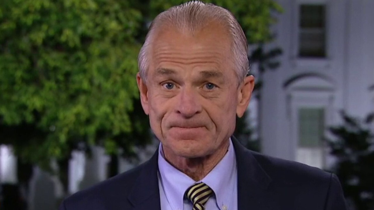 White House trade adviser Peter Navarro says Americans must get back to work and later argues our country will get through its current job losses by innovating and manufacturing goods and services on U.S. soil.