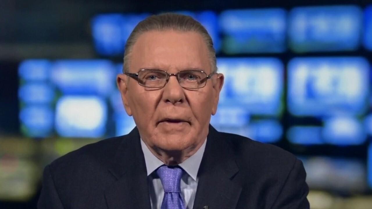 Gen. Keane: 'Mystifying' why Capitol Police weren't prepared for riot