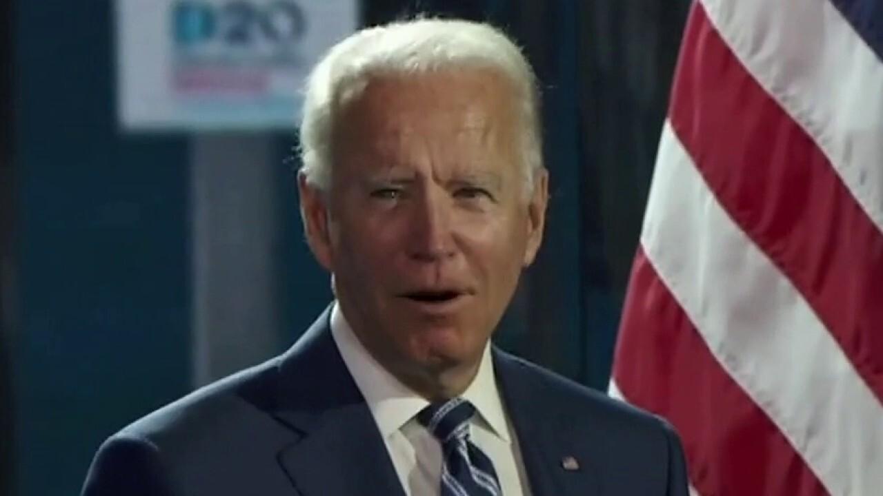 Biden unleashes on Trump ahead of RNC speech