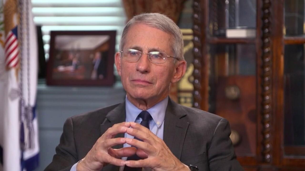 Dr. Fauci calls coordinated response to COVID-19 'impressive'